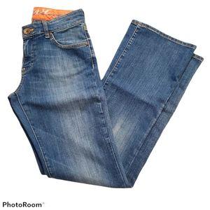 Mavi Molly bootcut jeans medium wash w27 l32
